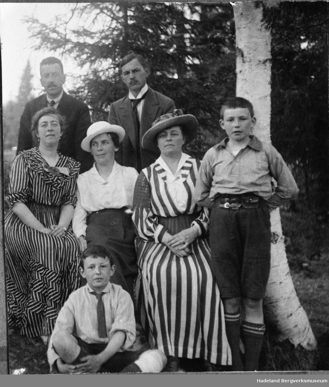 Familiene Normann og Borchgrevink.