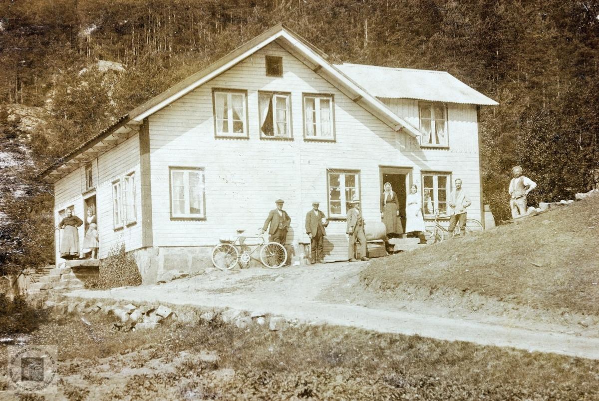 Hus på Stedjan i Grindheim.