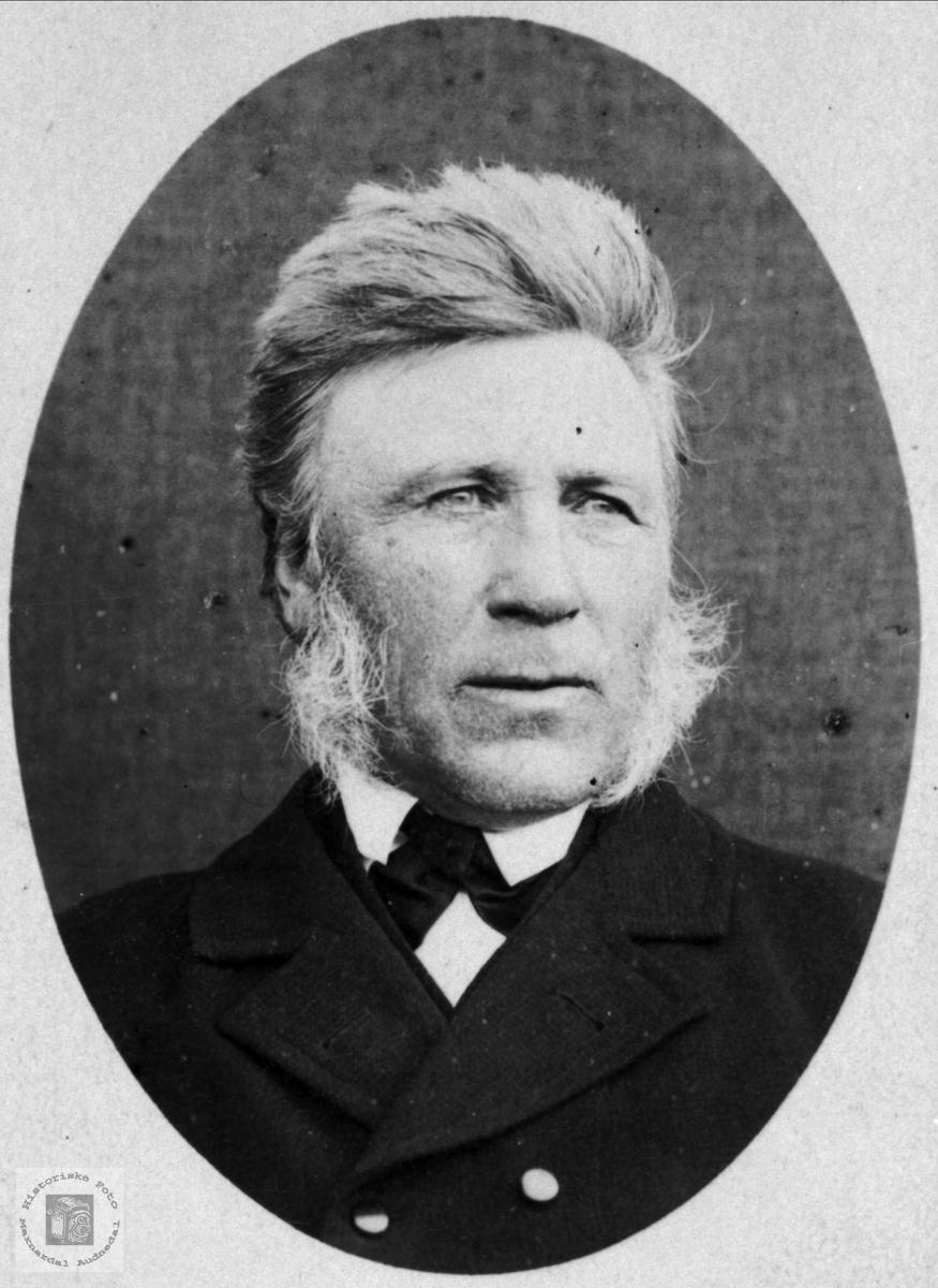 Portrett av Søren Foss, Bjelland.