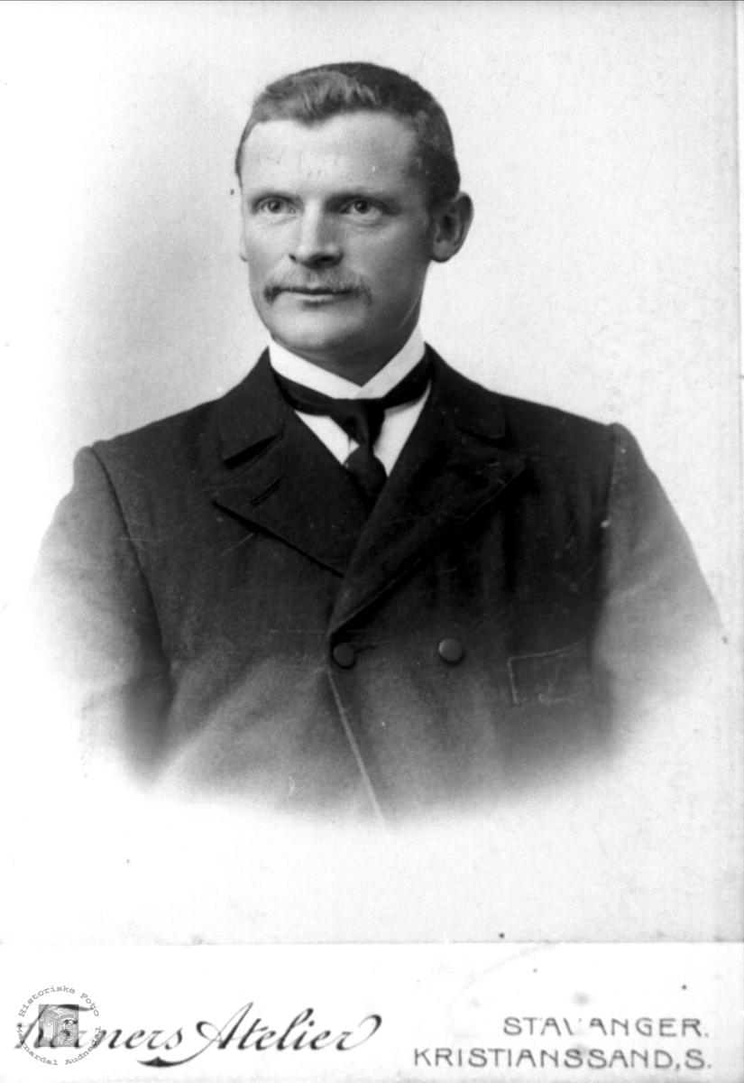 Portrett av Torkel Flot.