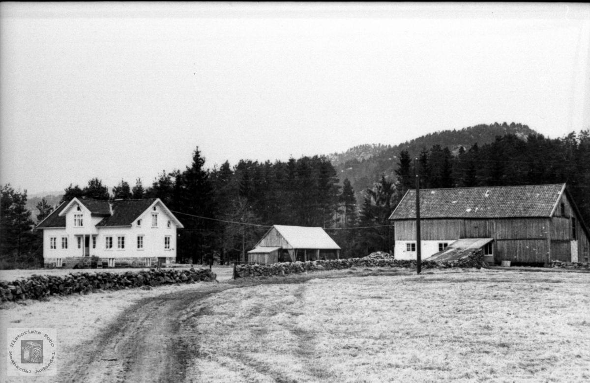 Gardsbruk.Mjåland, b.nr.1, Laudal.