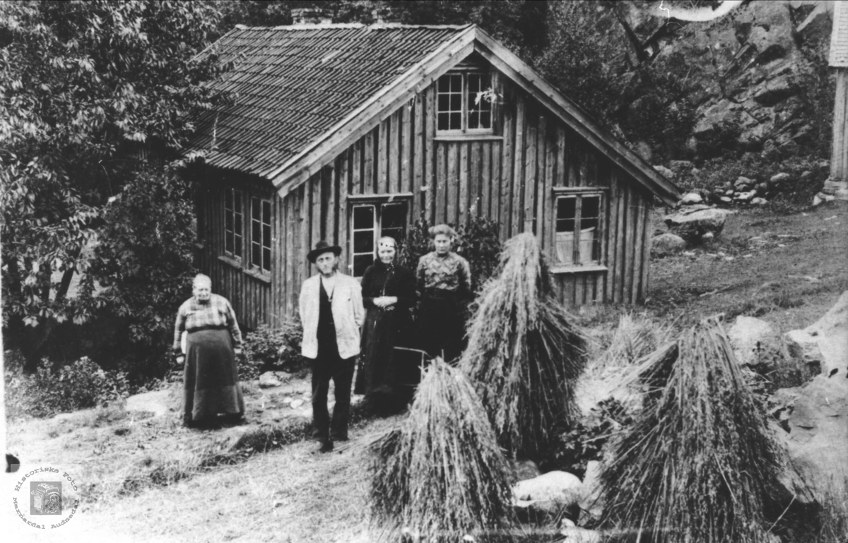 Gardstun på Årstøl, Søgne.