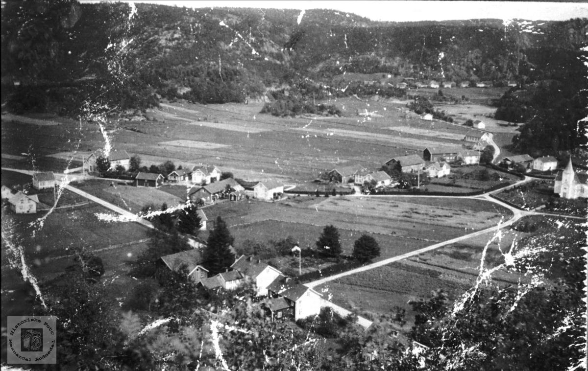 Øyslebøgarden i 1919. Øyslebø.