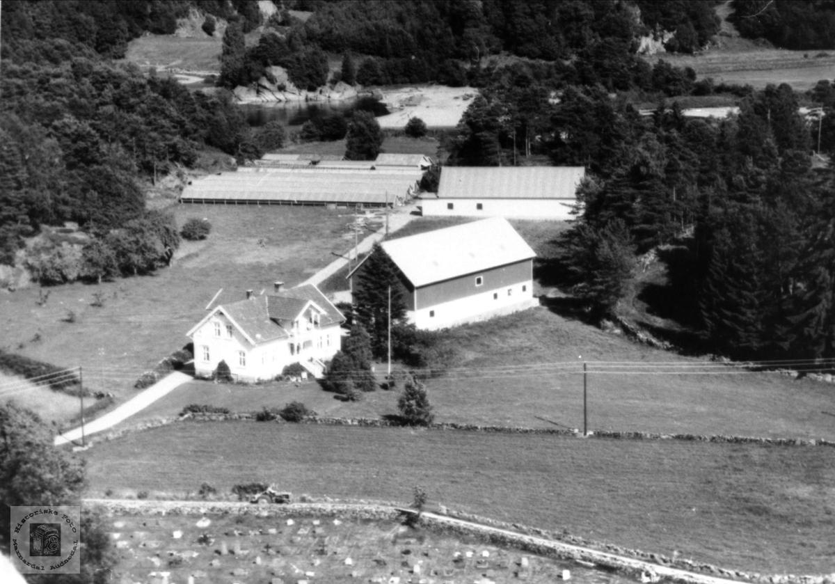Gardsbruk Øyslebø