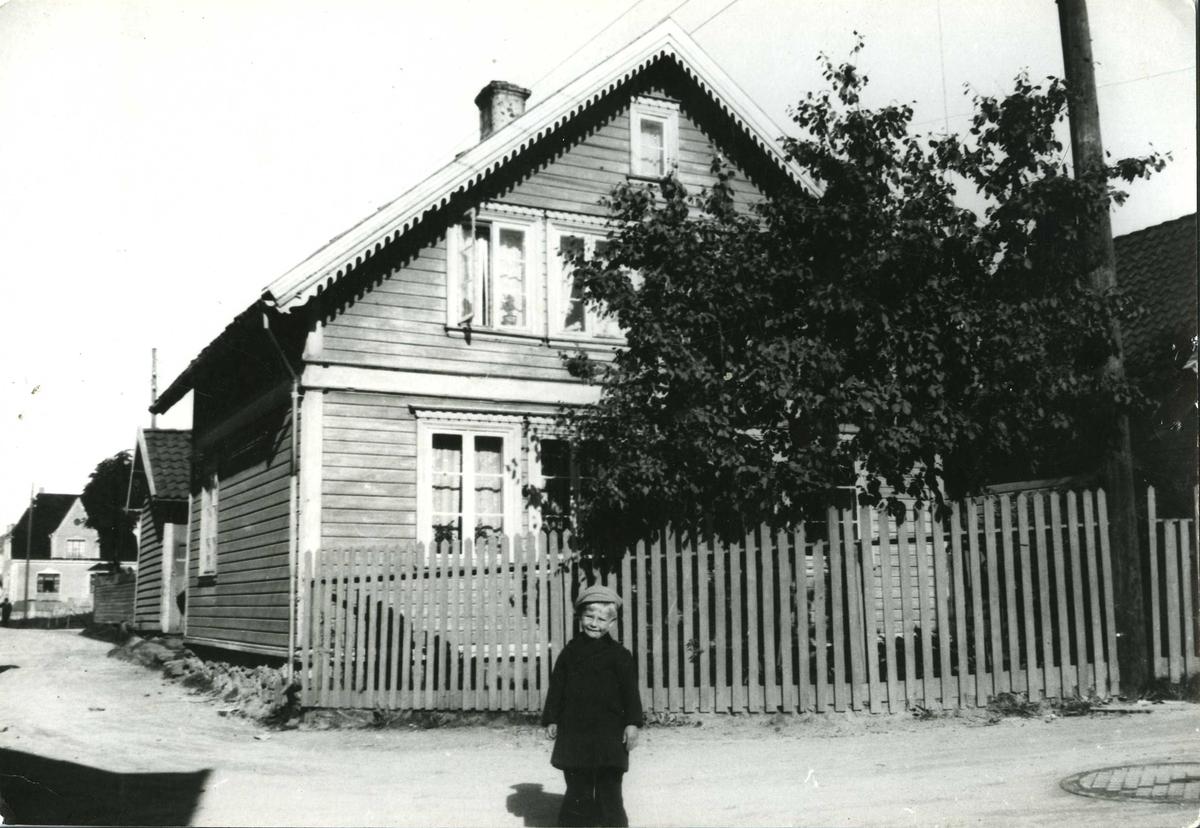 Bymiljø - byhus - hage
