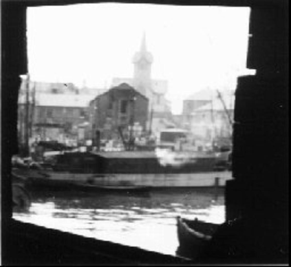 Båt, bebyggelse