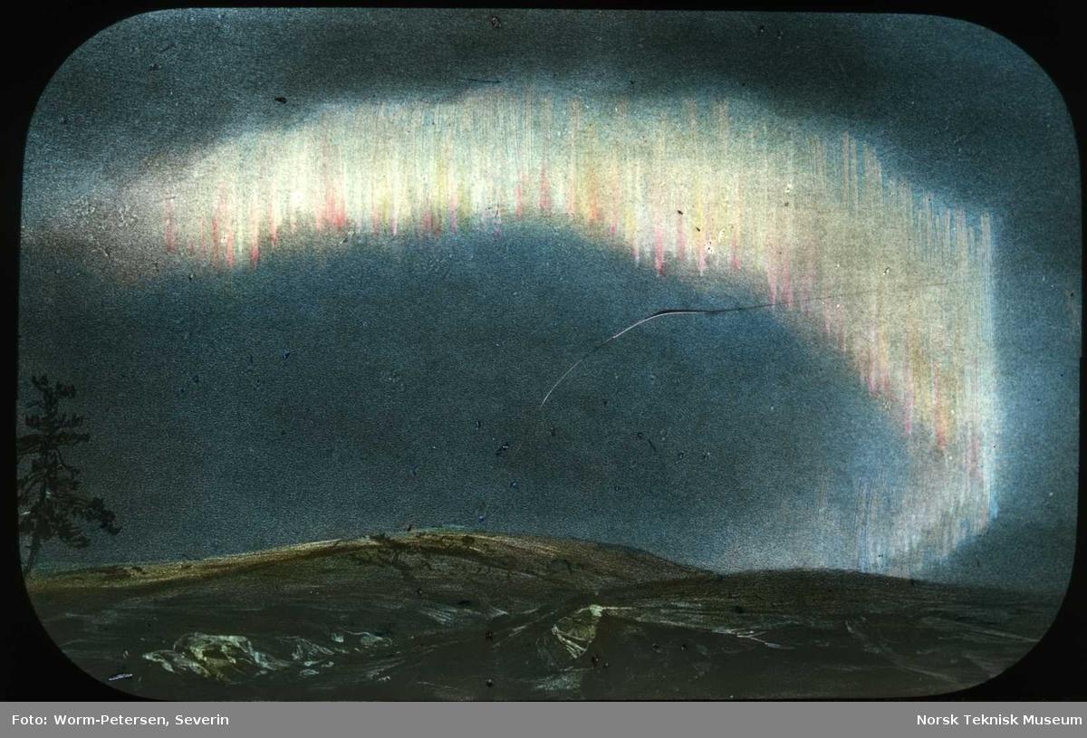 Nordlys observasjoner i Bossekop nordø 21. Jan. 1839