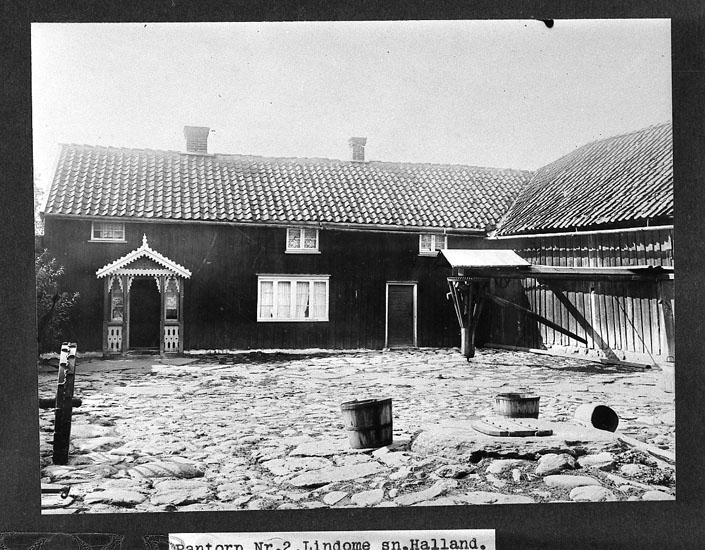 Manhus på gården Rantorp 2, Lindome
