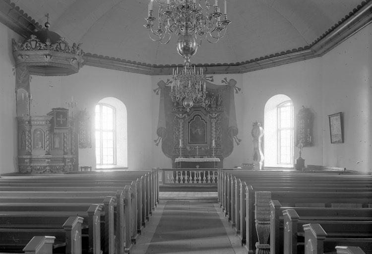 """Enligt AB Flygtrafik Bengtsfors: """"Jörlanda kyrka int. Bohuslän""""."""