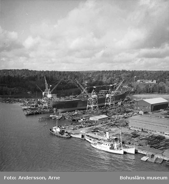 Sjösättning av fartyg nr. 241 M/T Anco Sovereign D.W.T. 23.640 Levererades 1972-02-02