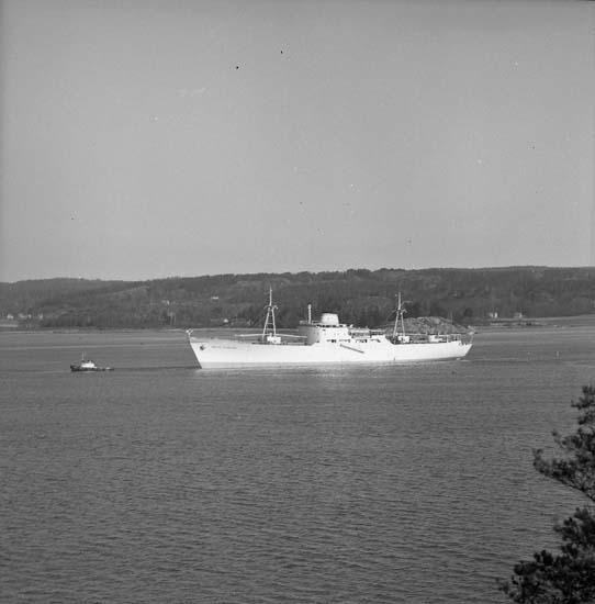 Leverans av M/S Brita Thordén, fartyg nr. 156.