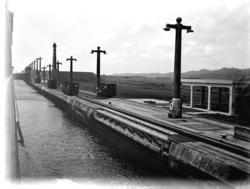Sluss i Panamakanalen