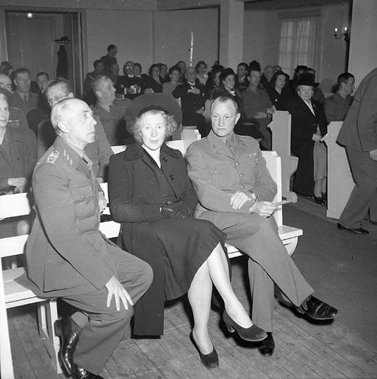 """Enligt notering: """"Invig av Soldathemmet 29/4 1947""""."""