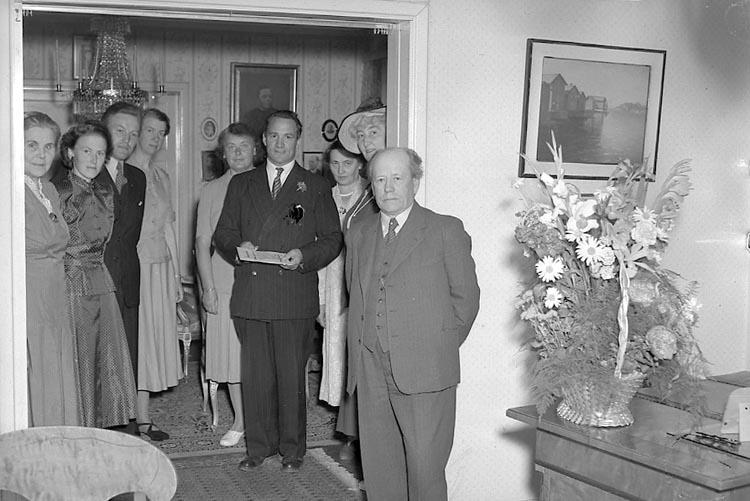 """Enligt notering: """"Inspektör Nylander 10/6 1949""""."""