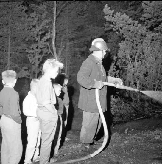 "Enligt notering: ""Skogsbrand Bulid 18/9 -59""."