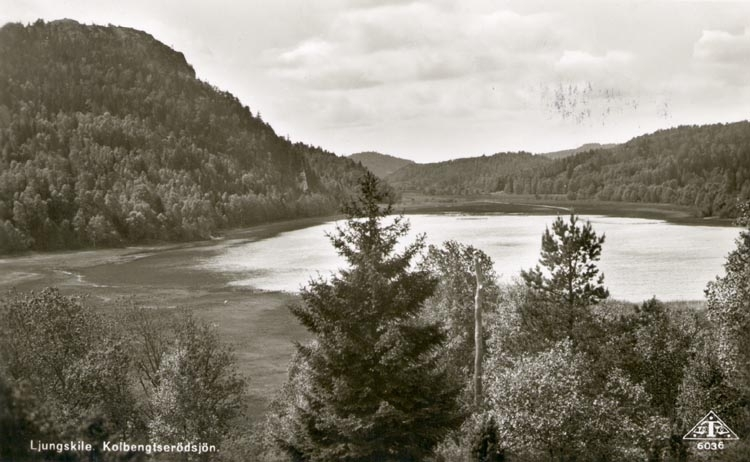 Funneshultssjön med berget Knipen