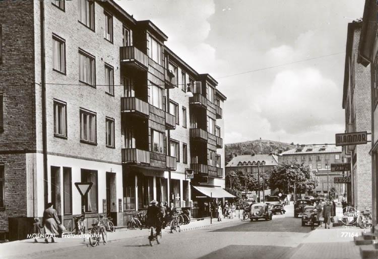 Frölundagatan i Mölndal