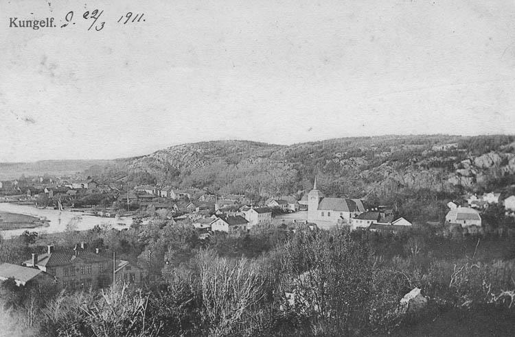 Kungelf. Noterat på kortet 22/3 1911.