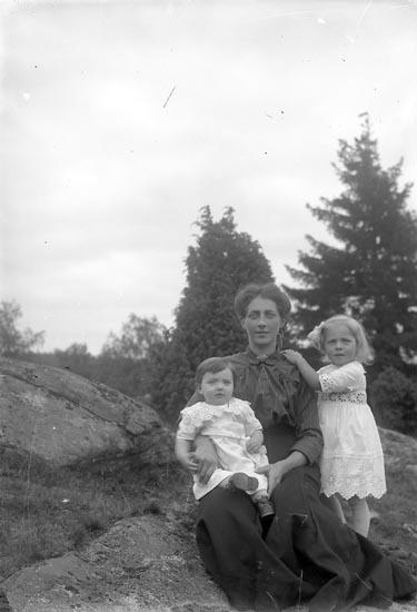 """Enligt fotografens journal nr 3 1916-1917: """"Johansson, Signe Tjäderöd, Svenshögen""""."""