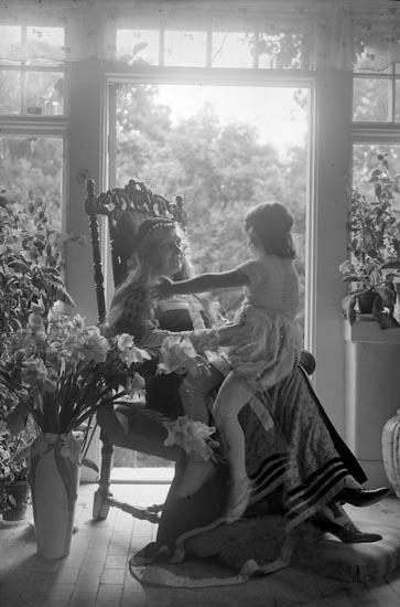"""Fotografens journal nr 5 1923-1929: """"Posse, Grefvinnan, adr. Aspegren Här""""."""