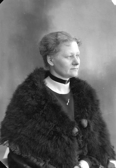 Fotograf Ingeborg Enander, självporträtt 1928