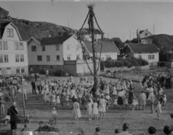 Midsommarfirande i Skärhamn