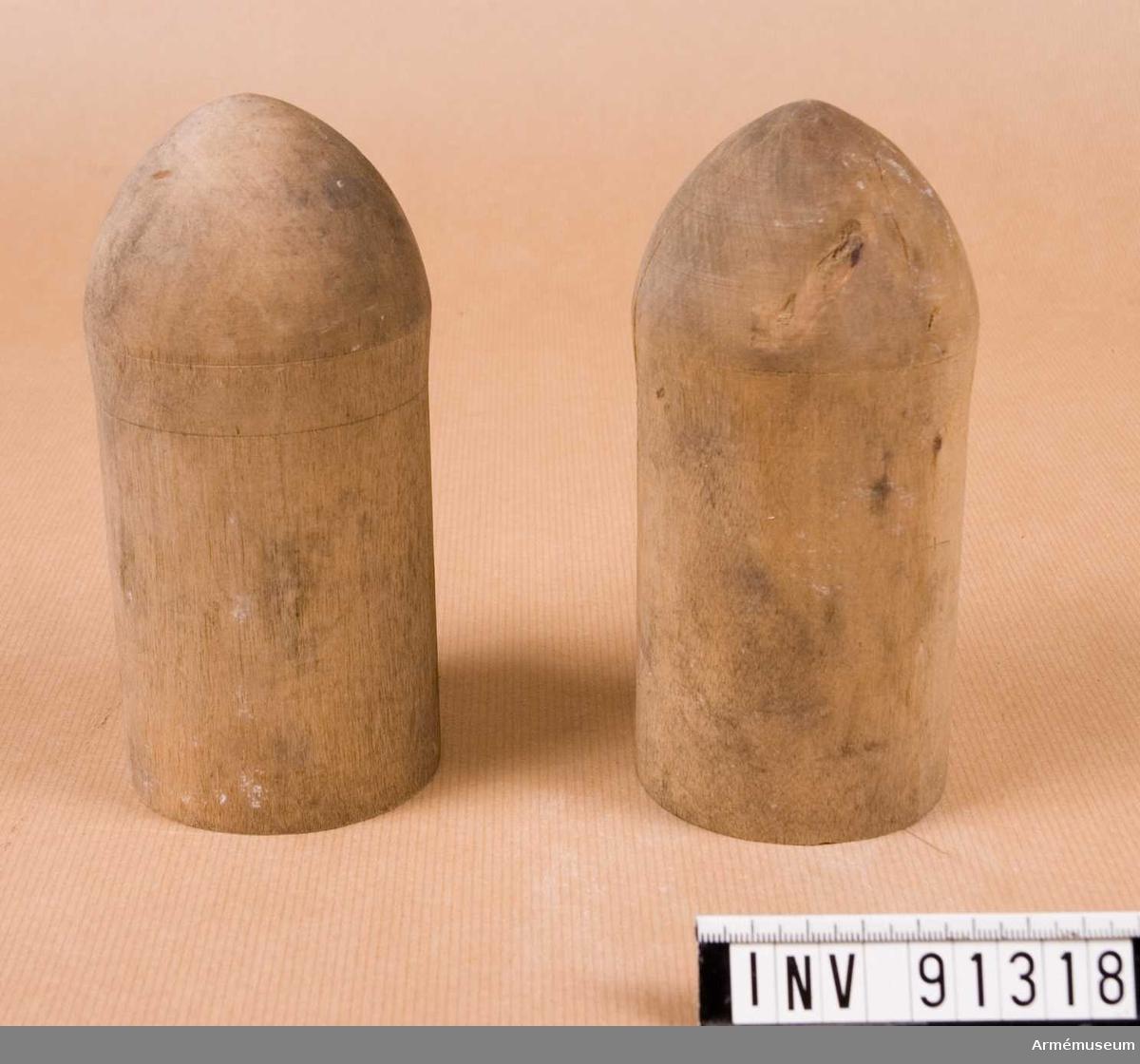 Cylindrar i trä