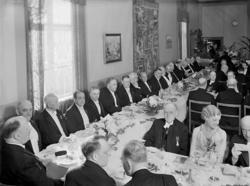 Uddevalla Sparbanks 100-årsmiddag, Gustafsberg 1936