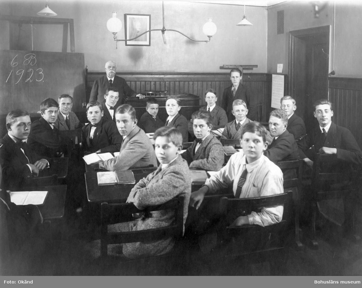Läroverksklass 1923