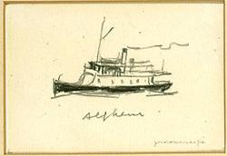 S/S ALFHEM [Teckning]