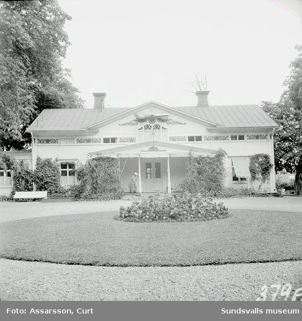 Svartviks herrgård från 1819.