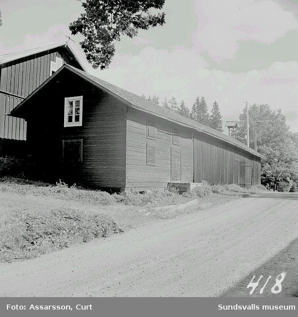 Magasinsbyggnad från järnbrukstiden på Norafors, Sättna.