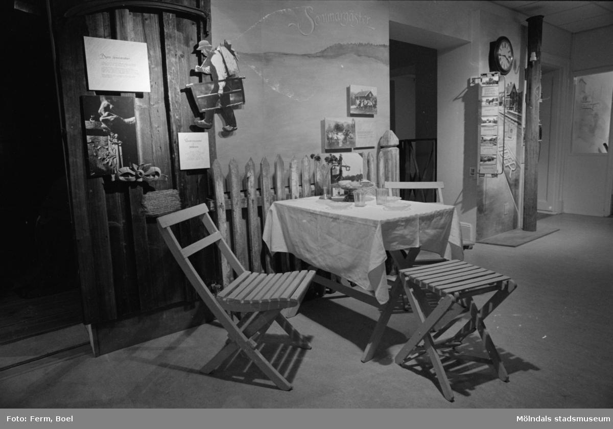 Mölndals museums basutställningar: Sommargäster