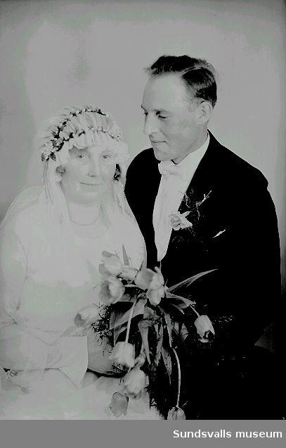 Bröllopsporträtt.