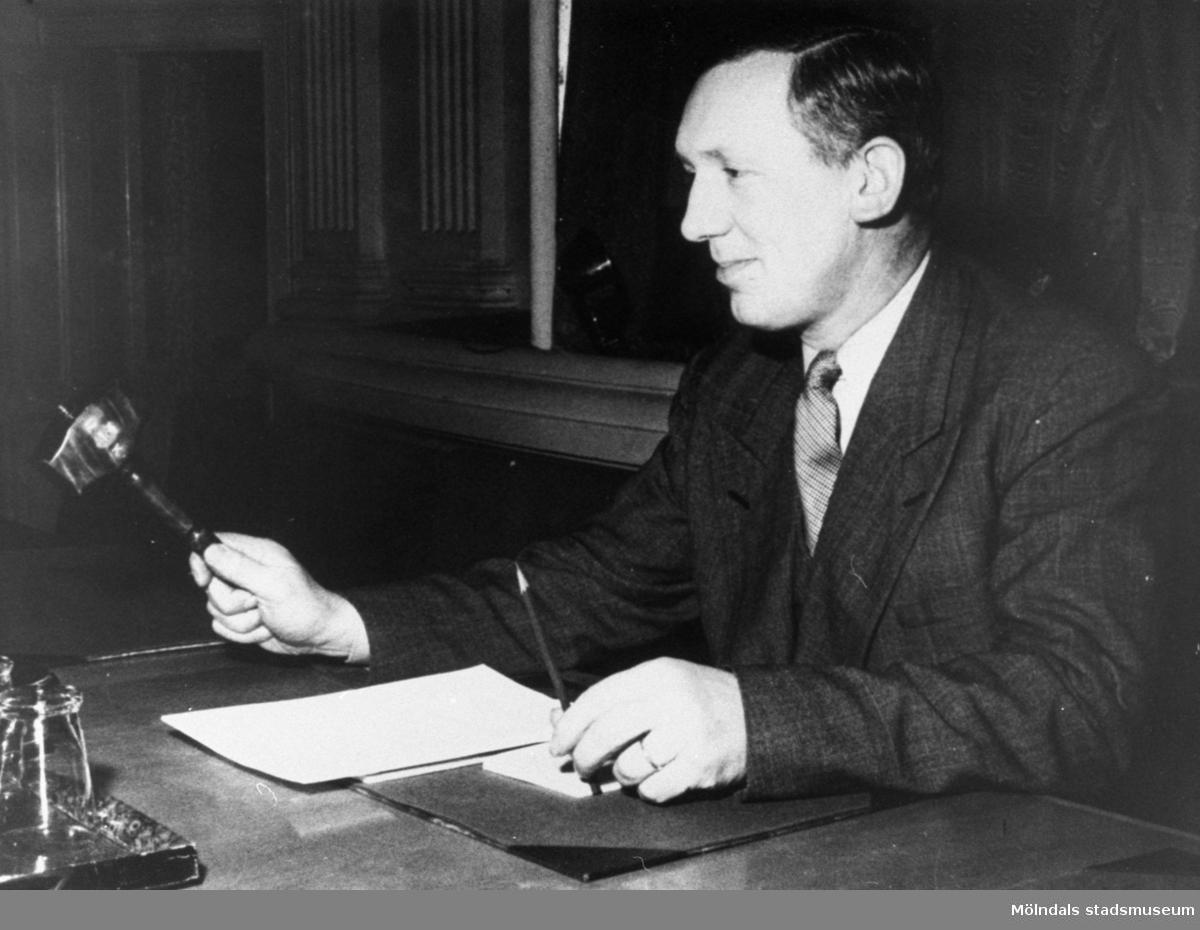 Anders Eliasson, ordförande i Pappers (pappersarbetarnas förbund) 63:an.