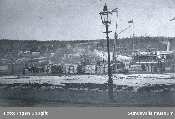 Sundsvalls hamn.