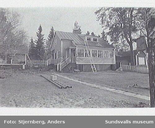 Vy fr S mot sommarhus från 1915.