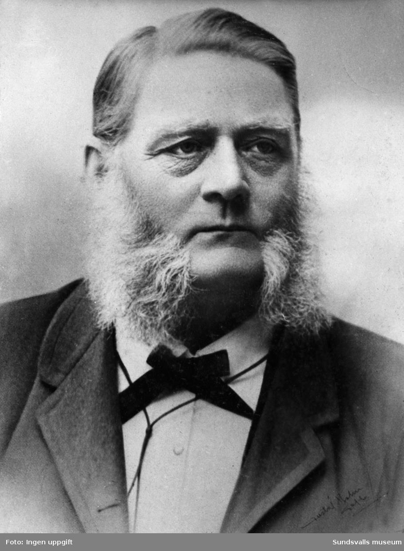 P. J. Hejdenberg, förgrundsfigur när Baptistförsamlingen i Sundsvall bildades 1855.