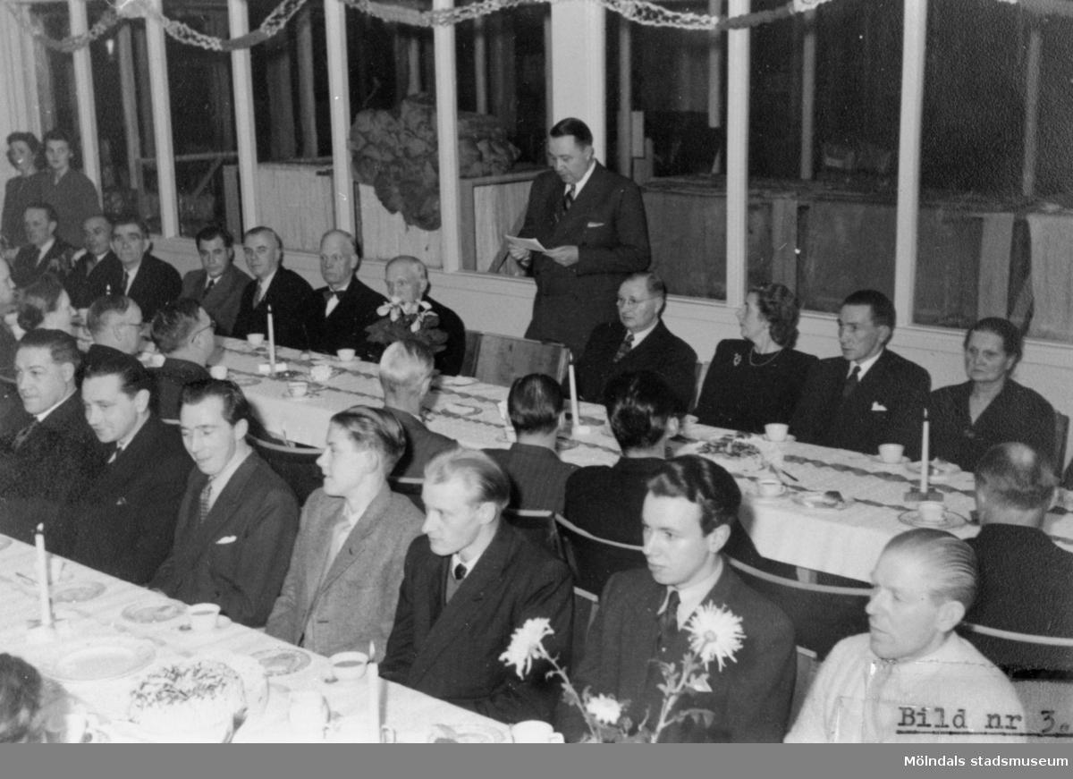 Luciakaffe vid August Werner 1948.