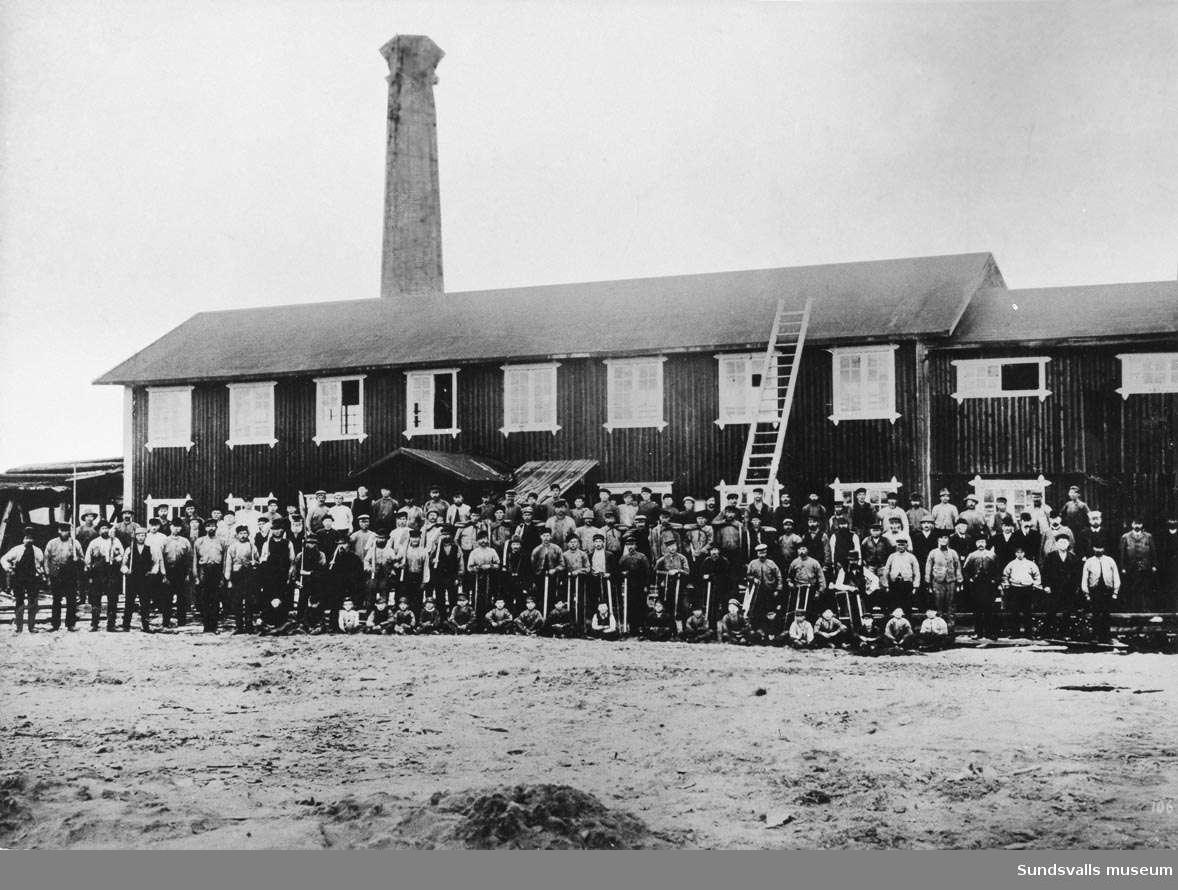 Hörningsholms sågverk 1900-.
