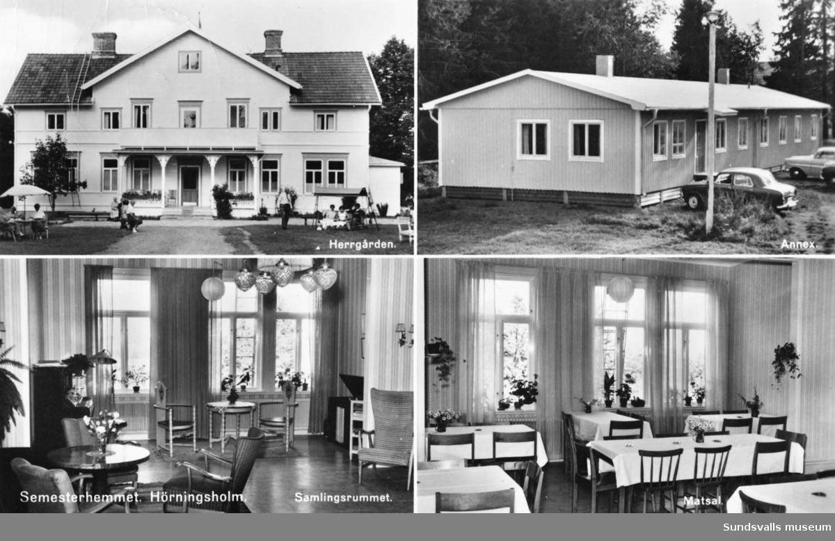 Hörningsholms semesterhem.