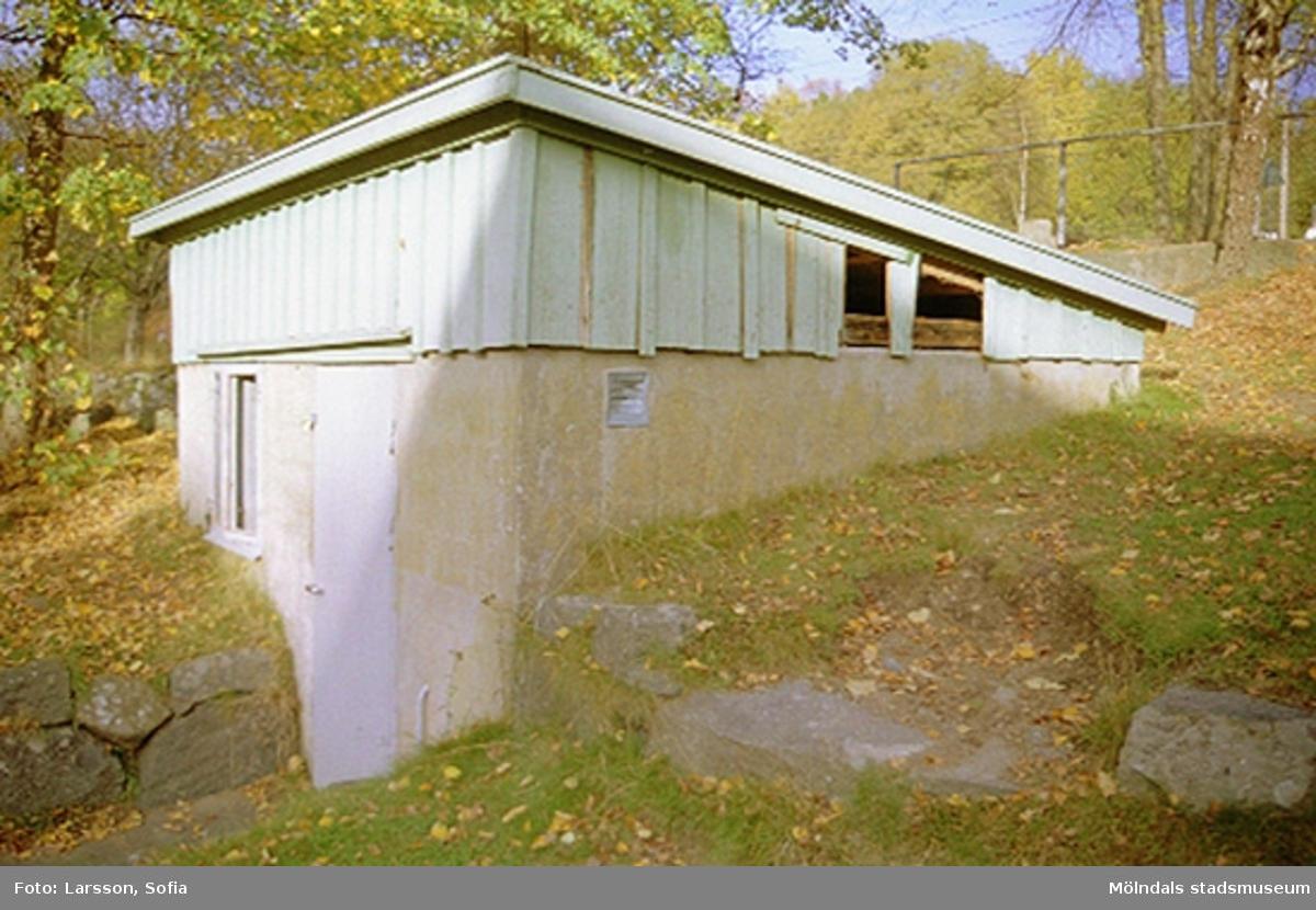 Ekonomibyggnad vid Sinntorpsskolan 2001-10-23.