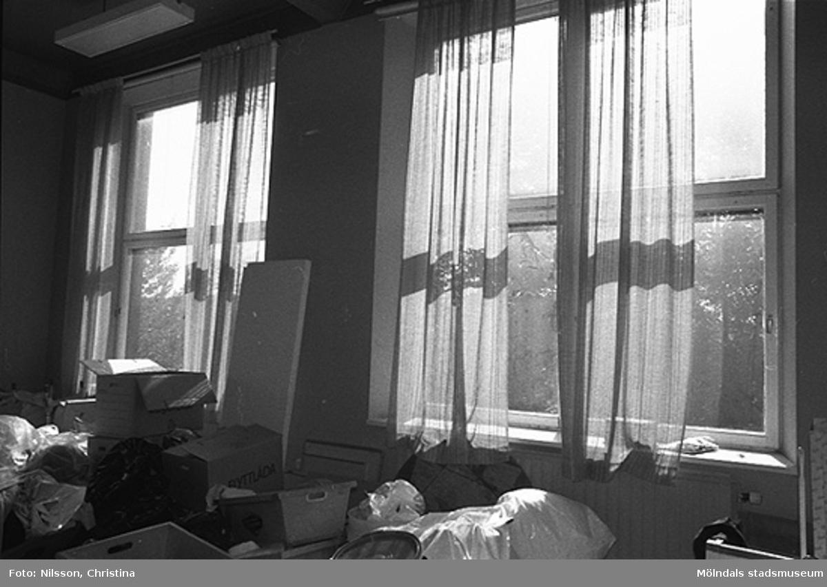 Byggnadsdetaljer: Fönster, hösten 1994.