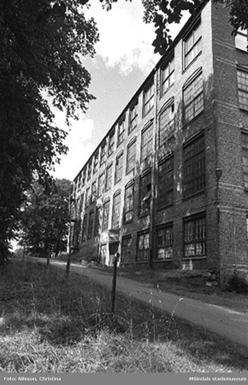 Werners fabriker, Annestorp, Lindome. Hösten 1994.