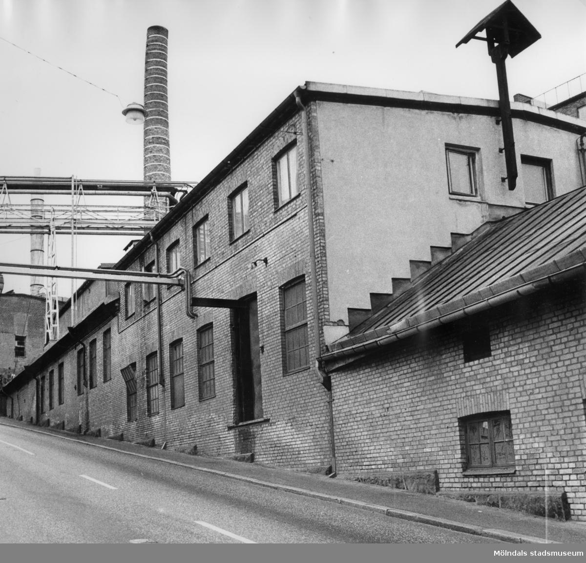 Fabriksbyggnad i Kråkbacken, Kvarnbygatan.