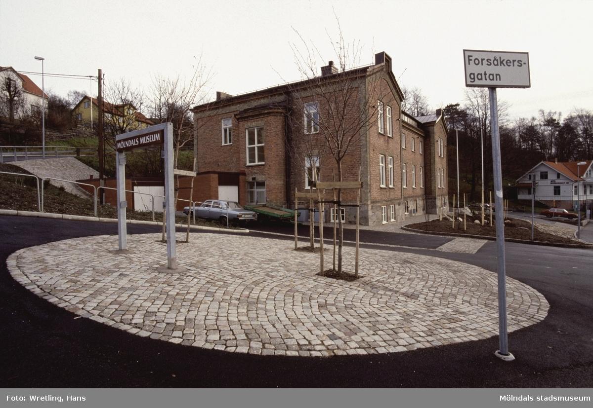 Exteriörfoto från Mölndals Museum.