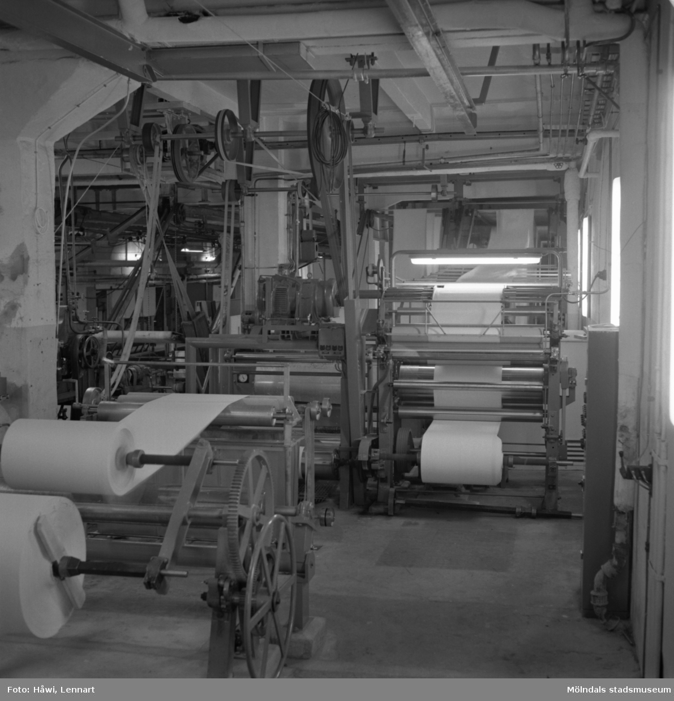 Målmaskin nr 6 på Papyrus i Mölndal, 5/12 1959.