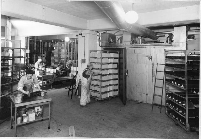 Postens Industrier, Ulvsunda Målarverkstaden