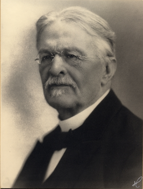 Fredrik Oskar Klemens Lindh, postmästare i Örebro 1891-1913.