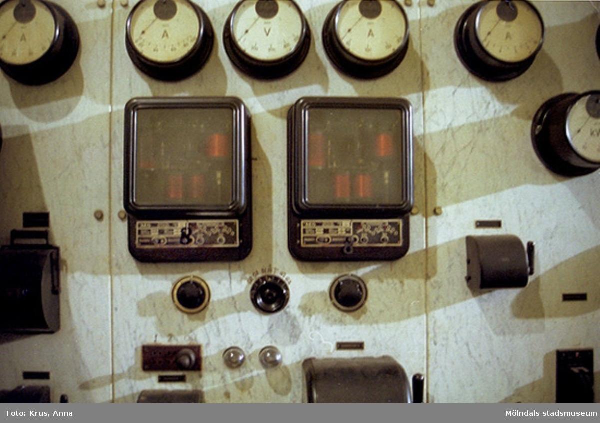 Interiör i Djupedala vattenkraftverk. Djupedala 8:1.